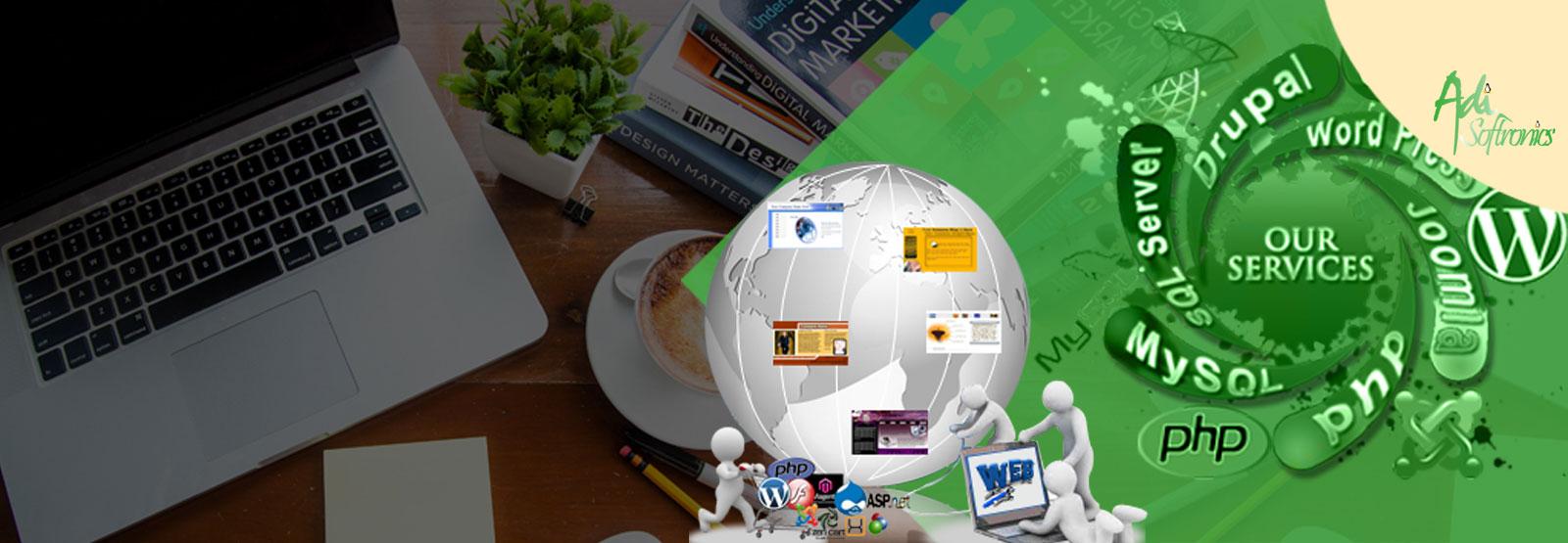 Website Designing and Development in Delhi - Adisoftronics
