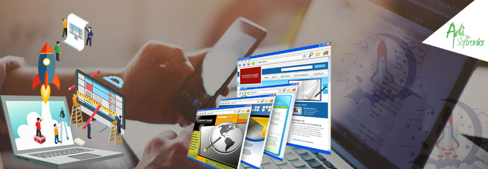 Startup Website Designing - Web Development and Website Designing
